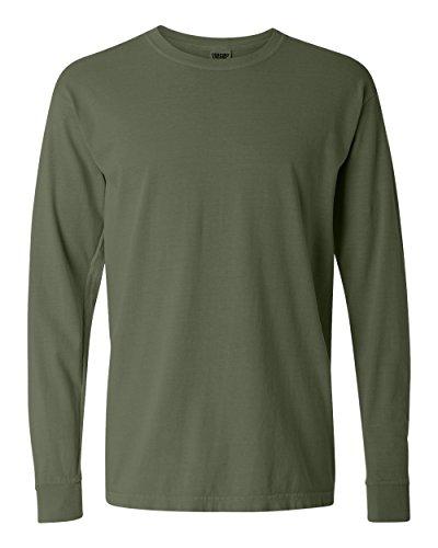 (Comfort Colors Chouinard 6014 Adult Heavyweight Long Sleeve Tee Hemp XXX-Large)