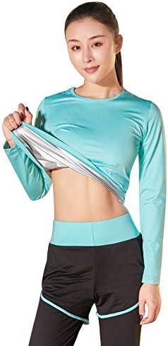 サウナスーツ レディース ダイエットウェア トレーニングウェア 運動着 脂肪燃焼 フィットネス 減量用 超発汗 ストレッチ 新陳代謝 洗濯可 大きいサイズ S/M/L/XL/2XL/3XL/4XLサイズ