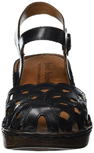 Rebecca Sandals 17 Women's Josef Black Seibel Black Ankle Strap Z1wagq