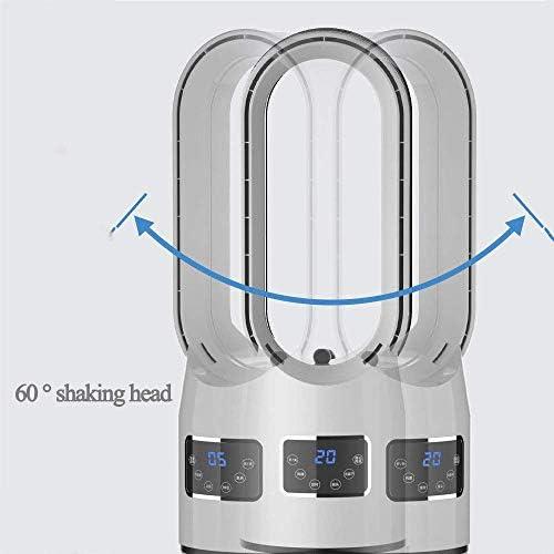 Torenventilator voor huishoudelijk gebruik 43-in, luchtreiniger met watertank van 5 liter en touchscreen, met bladloos ontwerp met drie bestanden W9913TWN