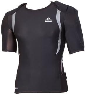 Adidas Techfit Powerweb Shirt XL kurzarm T Shirt, blau