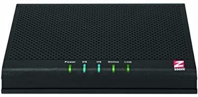 Zoom 343 Mbps DOCSIS 3.0 8X4 Cable Modem (Model 5341J) by Zoom