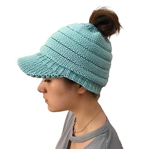 NEEKEY Women Casual Outdoor Knitted Hats Crochet Knit