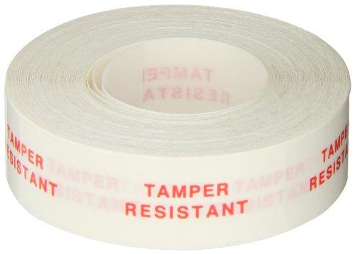 Roll Products 113-0001 Transparent Secure Lock Label, Legend