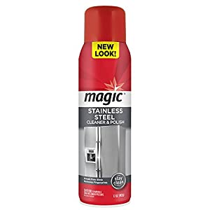 Magic Stainless Steel Cleaner Aerosol, 17 oz