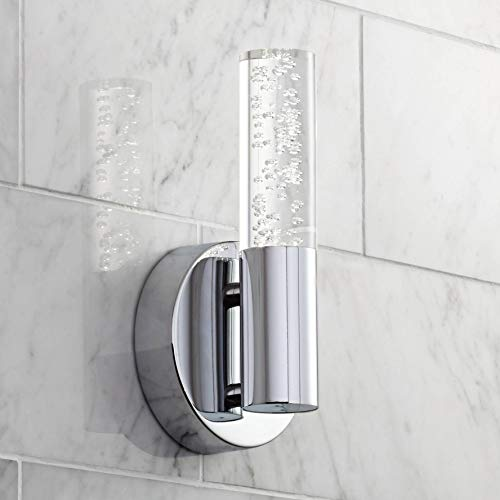 9 Led Wall Sconce - Natalya Bubble Acrylic Tube 9