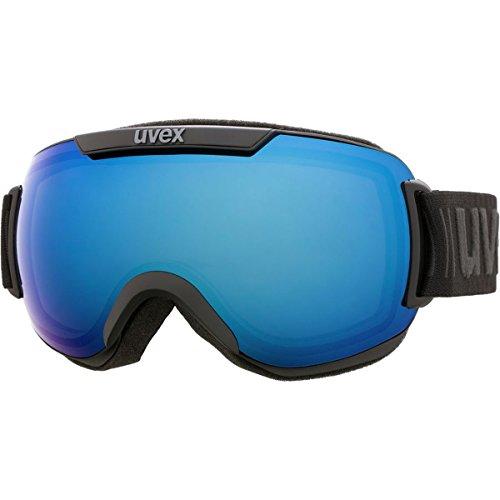 Uvex Downhill 2000 FM Ski Goggle - Black Mat with Blue Lens