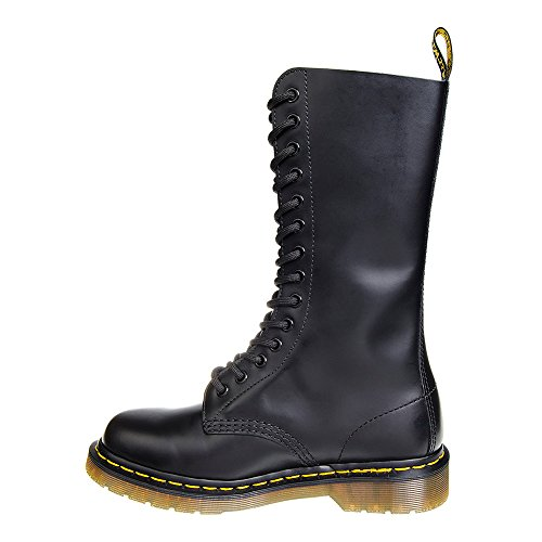 Dr.Martens 1914Z Black Smooth Leather Womens Boots mt1P0S