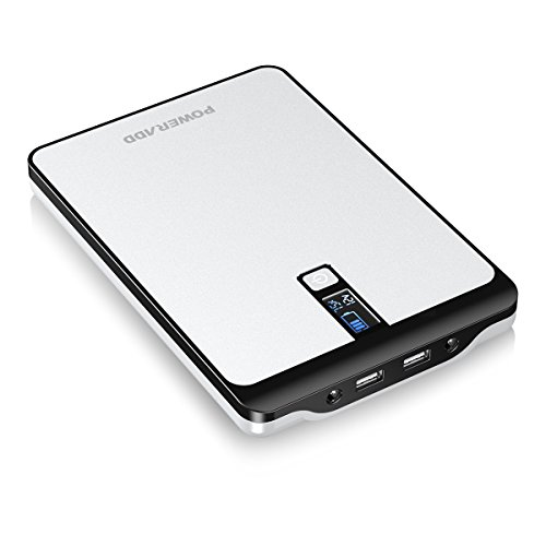 POWERADD Pilot Pro2 23000mAh Power Bank 4.5A DC (5V/9V/12V/16V/19V/20V, 3 Ports) Output External Battery with LCD Display for MacBook, Laptops, Smartphones and Tablets by POWERADD