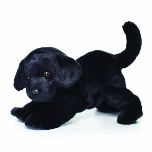 Black Lab Plush Toy - Nat and Jules Playful Large Black Labrador Dog Children's Plush Stuffed Animal Toy