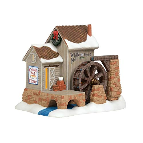 Department 56 New England Village White Rosse Mill Lit House (Dept 56 New England)