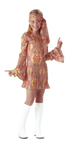 Disco Dolly Child Costume Red - Medium]()