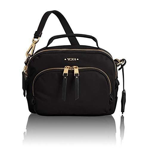 TUMI - Voyageur Troy Crossbody Bag - Over Shoulder Satchel for Women (Tumi Voyageur Capri Crossbody Black One Size)