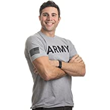Ann Arbor T-shirt Co. Army PT Style Shirt   U.S. Military Physical Traning Infantry Workout T-Shirt