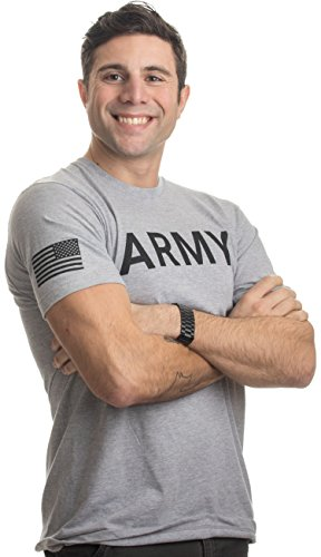 Pt Physical Training Shirt (Ann Arbor T-shirt Co. Army Physical Training PT | U.S. Military Fitness PFT Infantry Workout T-Shirt-(Adult,2XL))
