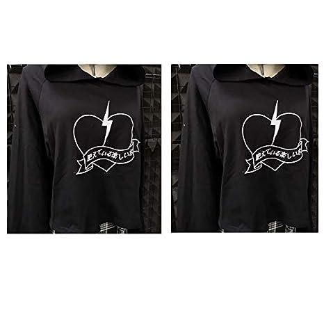 Corne Zjswcp Sweat Punk Hoodies Gothique Diable Femmes Noir Shirt 8OXnPk0w