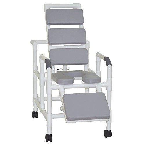 - MJM International 193-SSDE-TP-GRY Reclining Shower Chair