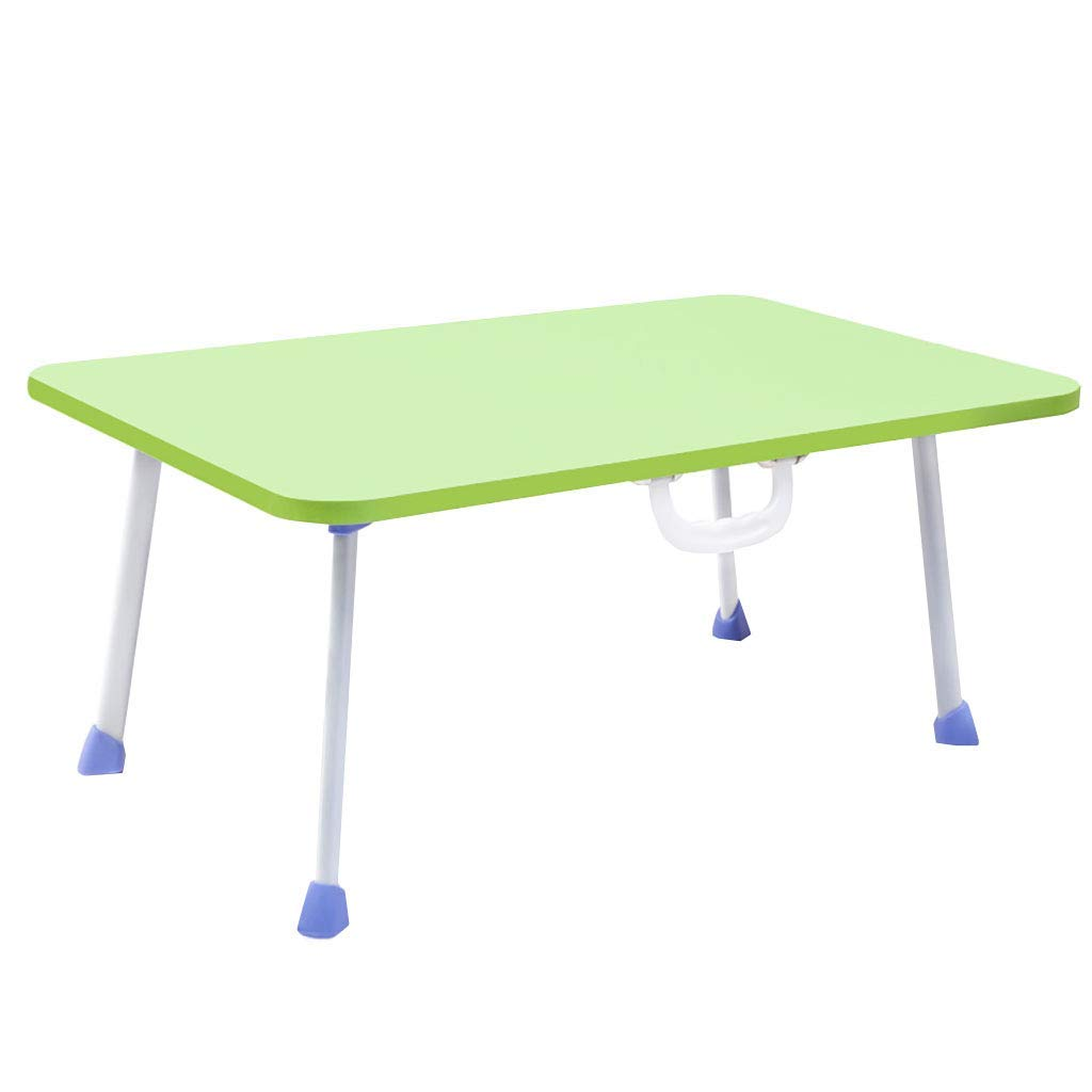 TJTG Laptop Desk Table Bed Small Table Foldable Table Bed Table Lazy Simple Household Home Office Desk