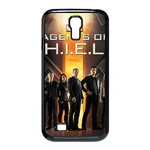 Agents of S.H.I.E.L.D Funda Samsung Galaxy S4 9500 Funda Caja del teléfono celular Negro P7J7US Caja del teléfono de plástico para las muchachas