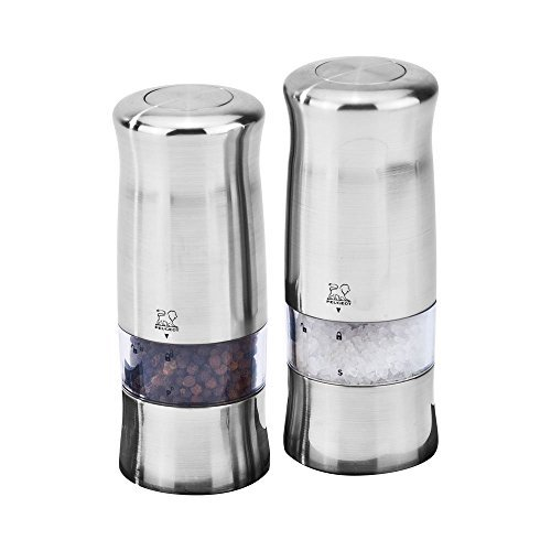 Salt Peugeot Electric - Peugeot Zeli Electric Salt & Pepper Mill Set