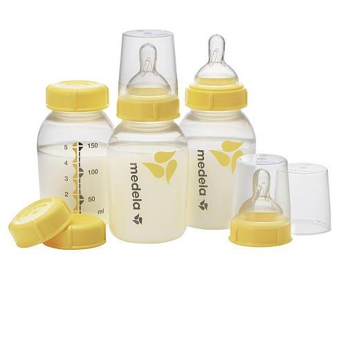 Medela Bpa Free 5 Ounce Breast Milk Bottles 3 Pack-