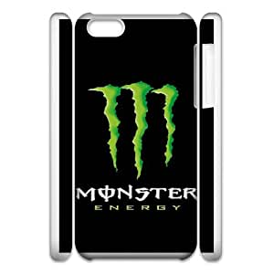 iphone 5c 3D Custom Cell Phone Case Monster Energy Case Cover UWFF36752
