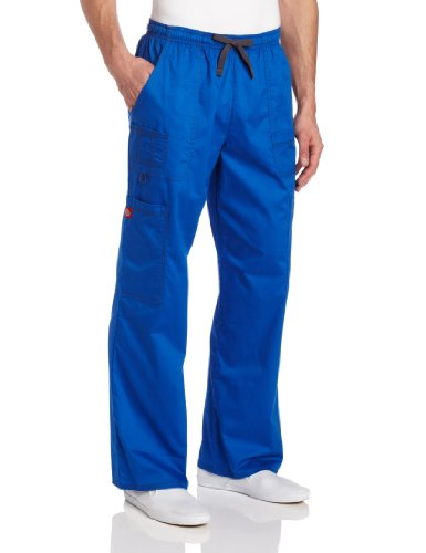 Dickies Generation Flex Men's Youtility Scrub Pants,Royal Blue,Small