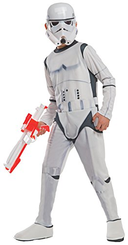 [UHC Boy's Star Wars Stormtrooper Theme Outfit Party Kids Halloweem Costume, L (12-14)] (Horror Costumes For Kids)