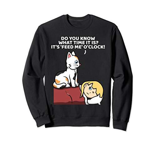 Funny Cat Kitty Kitten For Cat Lovers Sweatshirt