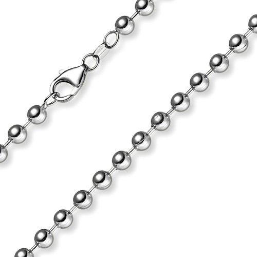 5 Mm couleur les bracelets bracelet chaîne en or blanc 585 21 cm