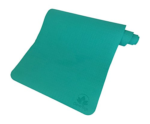 Clever Yoga Non-Slip 6mm Yoga Mat - Mint - Kid Accesories