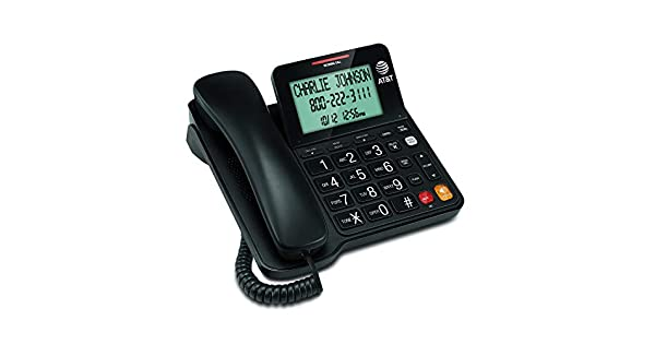 Amazon.com: Teléfono con cable con altavoz CL2940 de ...