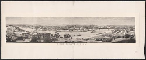 Photo: Cincinnati,U.S.A. / engraved by Charles P. Ulrich.