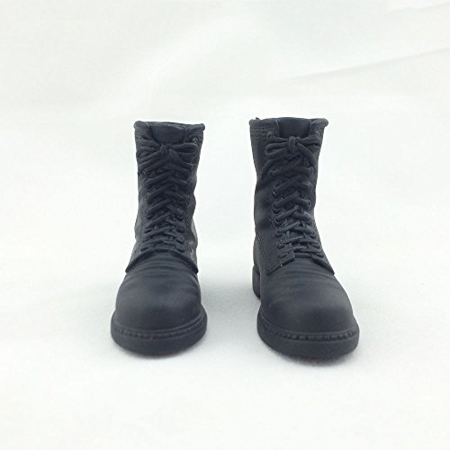 HOT FIGURE TOYS 1/6 Soldier thigh boot shoes American combat boots