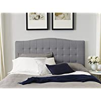 Serta Luna King Headboard in Ash Gray