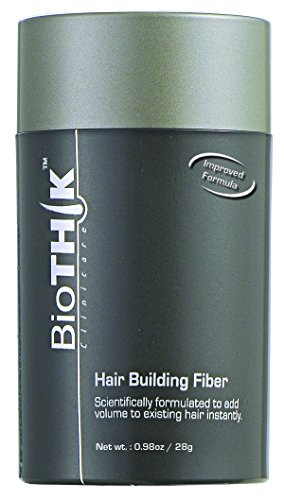 Dexe Hair Building Fibers,Miyshow Hair Thickening Fibers with Natural Keratin for Thinning Hair or Bald Spots Hair Loss Concealer Powder for Men and Women Brown-1