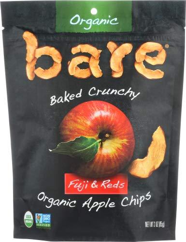 Bare fruit Chips Apple Fuji Organic 3.0 OZ (Pack of 12)
