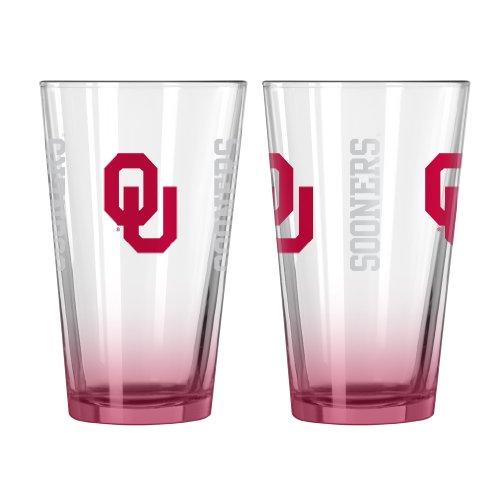 (University of Oklahoma 16oz. Elite Pint Glass)