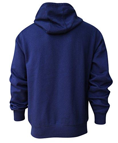 WingE Men's Dallas Cowboys Sporty Hoodies Jackets - Dark Blue (Size: XXL)