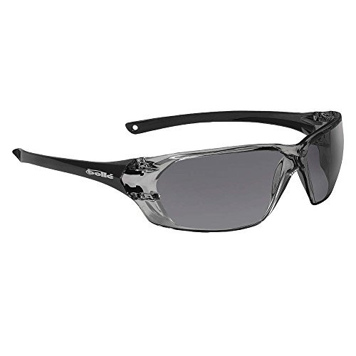 Prism Anti-Fog, Scratch-Resistant Safety Glasses, Smoke Lens Color - 1 Each by Bolle' Safety
