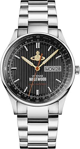ヴィヴィアン ウエストウッド The Cranbourneメンス 腕時計VV207BKSL並行輸入品]