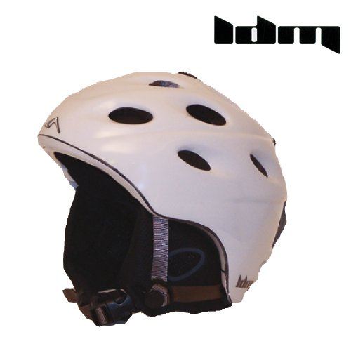 (LDM Prophet Snow Helmet, Matte White, Small/Medium)
