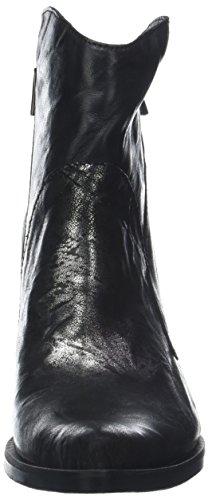 Santiags Enea 008 Noir Nero Piu Femme Inox Donna E8n5Wpwq8
