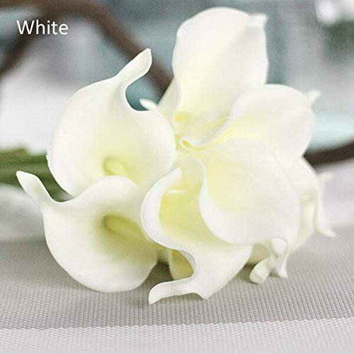 Wholesale 1Pcs/Lot Artificial Calla Lily Flower Real Touch for Bridal Holding Flowers Rooms Party Decoration Super Value