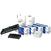 "Epson 111198200 AT1L-30010 Thermal Paper Label for TM-L90 Printer, 3"" W x 1"" L, Black (Pack of 10)"