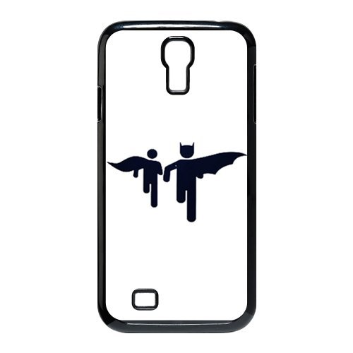 Batman Two Shadow The Dark Knight Durable Hard Plastic Case Cover for SamSung Galaxy S4 I9500 Personalized Unique Custom Design Fashion DIY