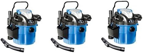 Vacmaster VWM510 5 Gallon Wall Mountable Wet /& Dry Vac Vacuum w// Remote Control
