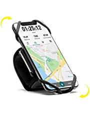 Carry Run Running Armband Phone Holder, Rotation360°&Detachable, Lightweight Sports Cell Phone Arm Band Compatible with iPhone 11 Pro XS XR X 8 7 6 Plus Samsung Galaxy S10 S9 S8 Smartphone