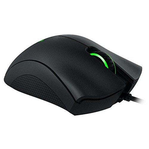 Hand Gaming Mouse DeathAdder Chroma 3500DPI Gaming USB Wired Mouse (Logitech Wireless Marble Mouse)