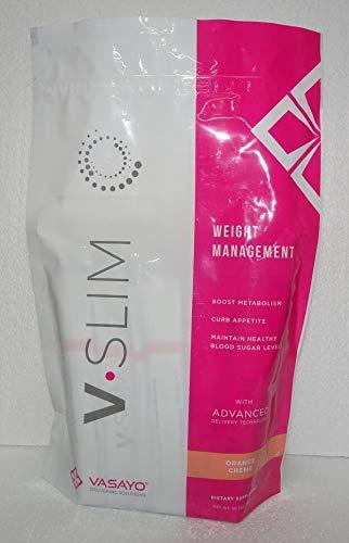 Vasayo V-Slim Vslim Weight Management Orange Creme Flavor 30 Pieces